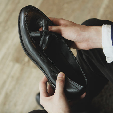 Special ML Tassel Loafer - Soft Nappa Black