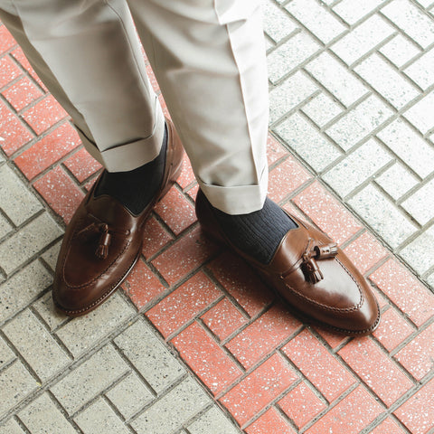 ML Tassel Loafer - Dark Brown(C)