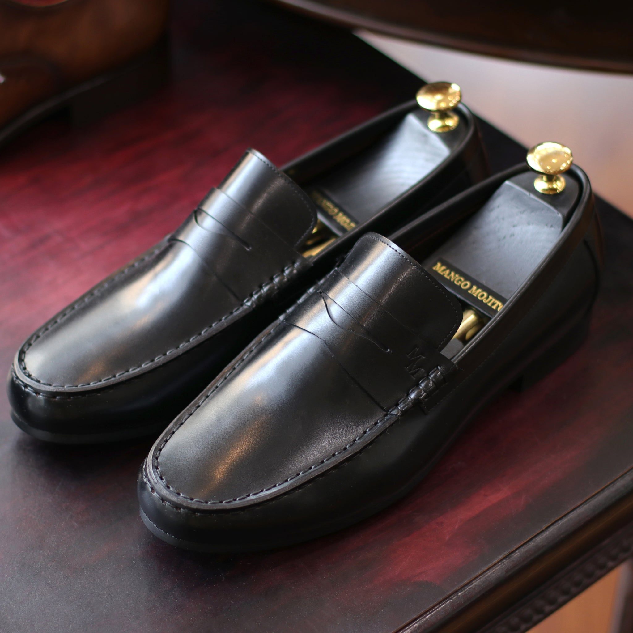 Formal Penny Loafer - Black(JPN)