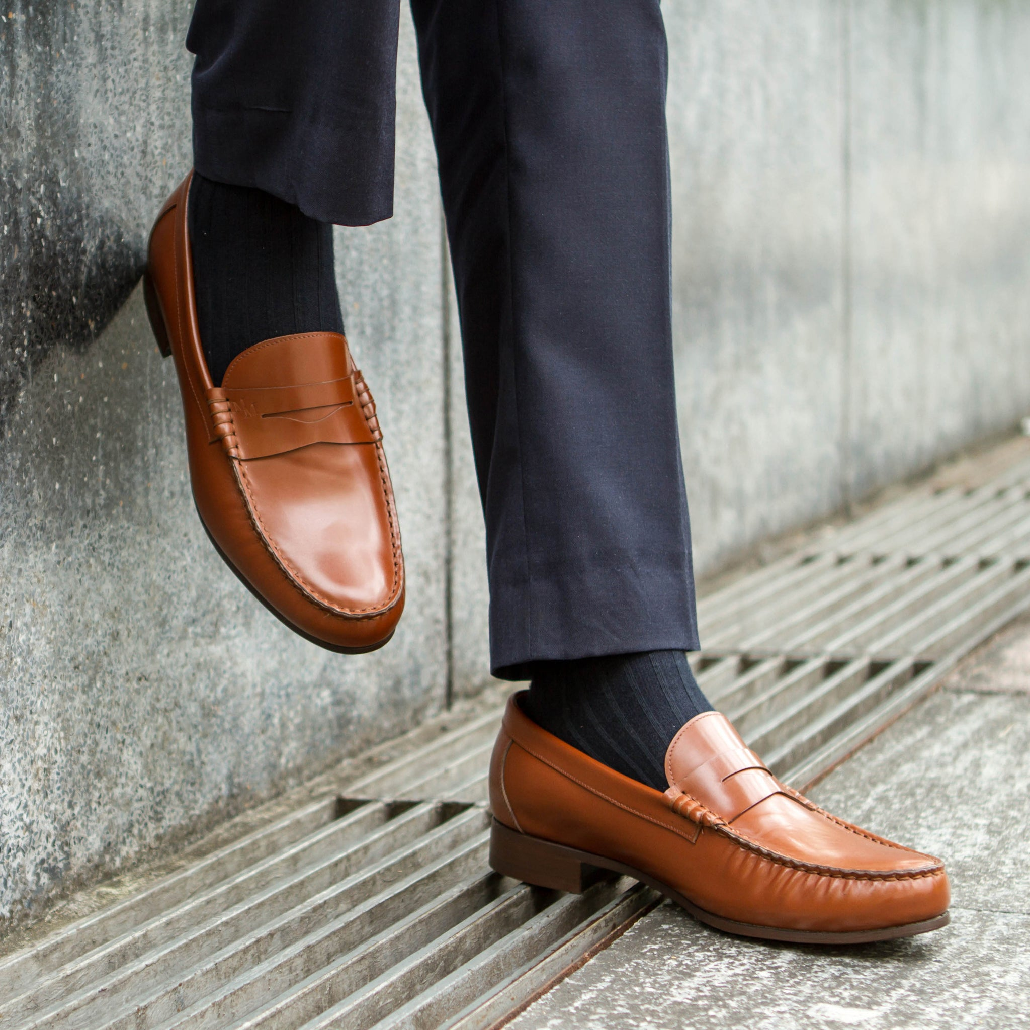 Formal Penny Loafer (JPN) - Light Brown