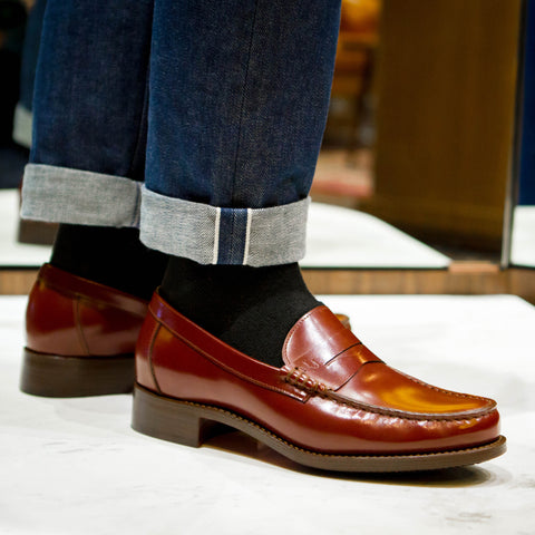 GYW Formal Penny Loafer (JPN) - Burgundy