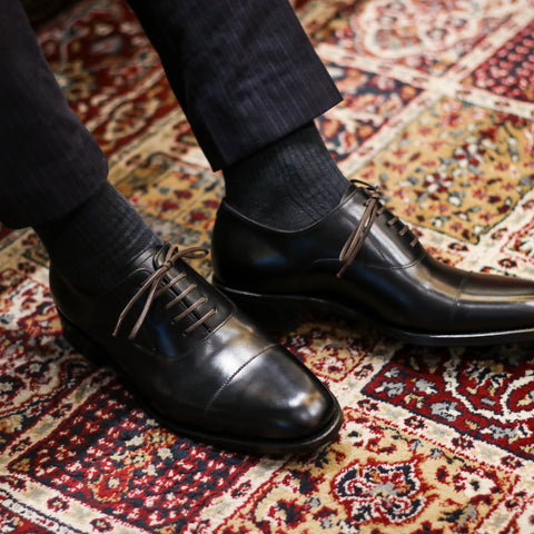 New GYW Masterpiece Captoe Oxford (JPN) - Black