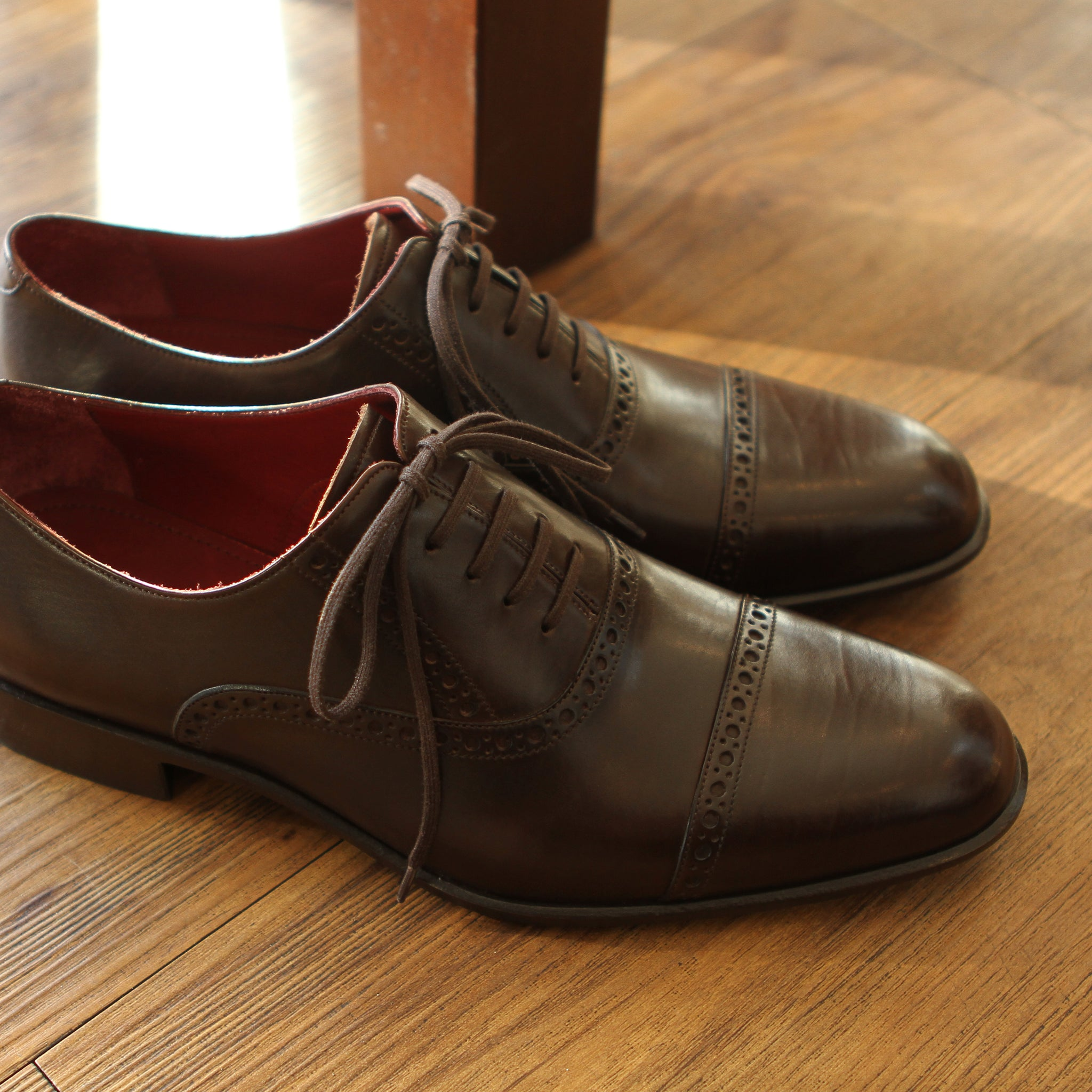 Masterpiece Captoe Oxford - Brown