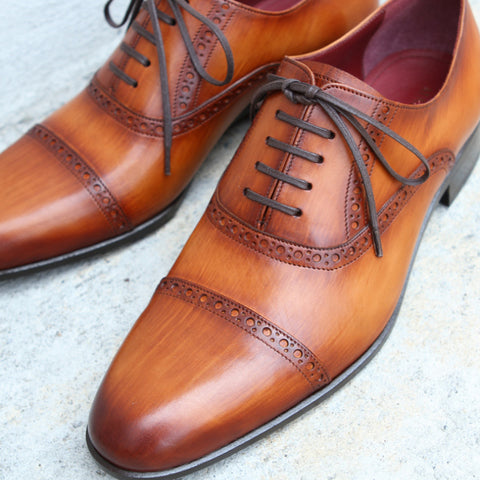 Masterpiece Captoe Oxford - Oak