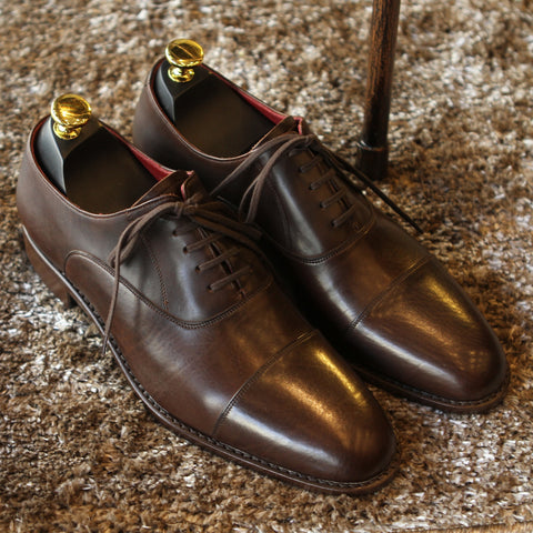 New Masterpiece Captoe Oxford - Brown