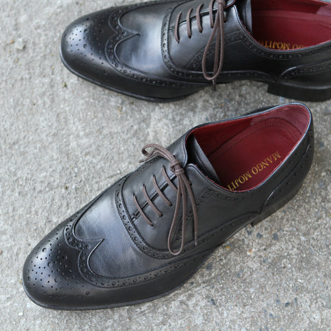 Masterpiece Full Brogue - Black