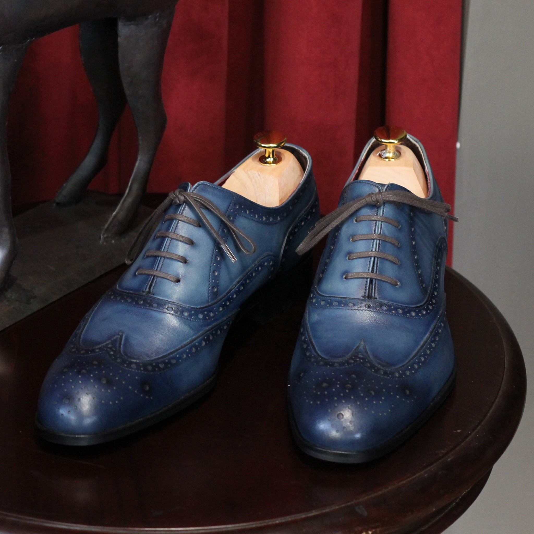 Masterpiece Full Brogue - Navy