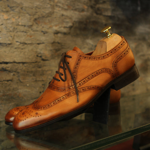 Masterpiece Full Brogue - Oak