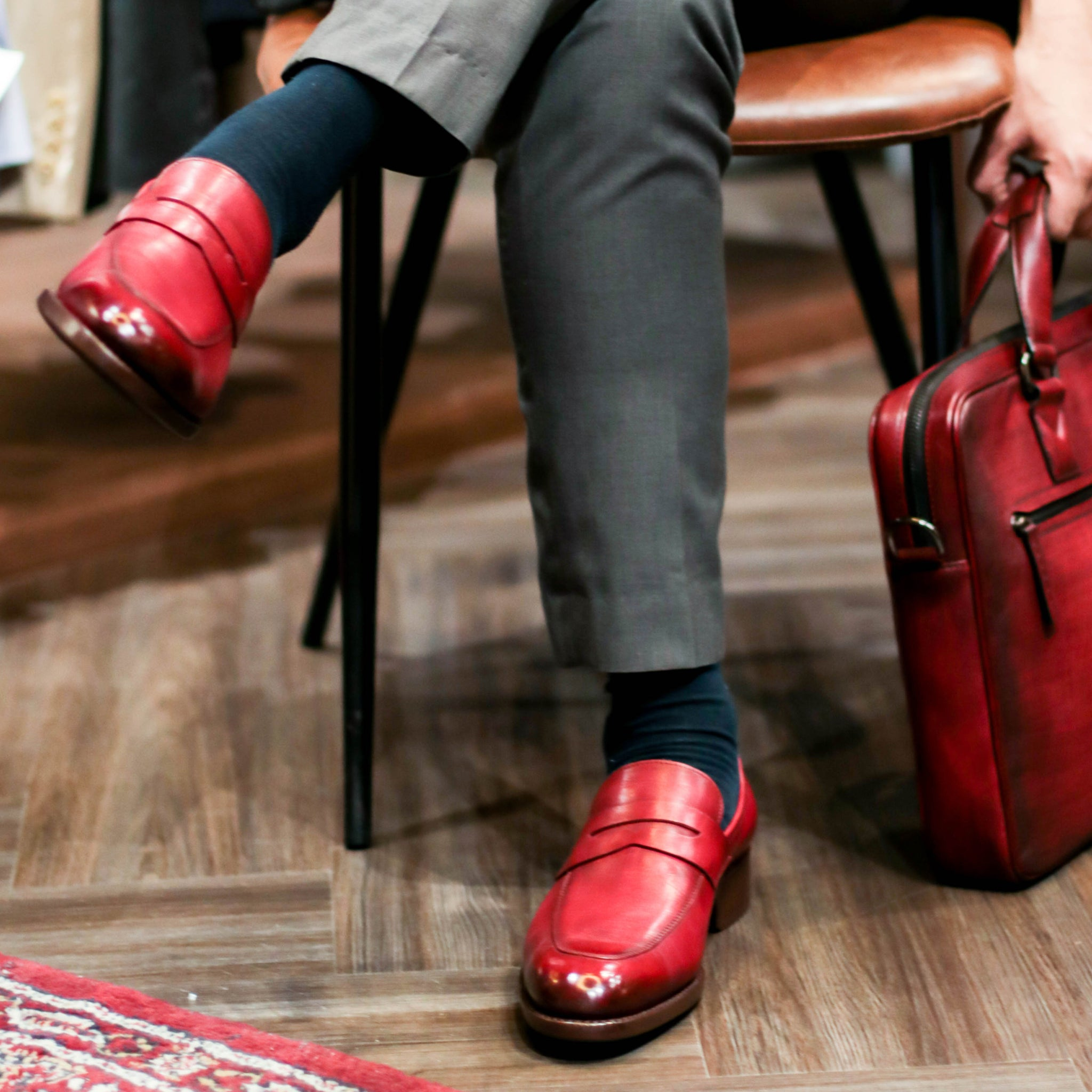 Masterpiece Penny Loafer - Ruby