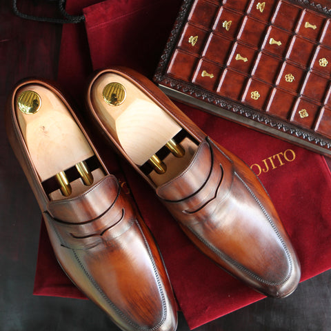 Masterpiece Penny Loafer - Tobacco
