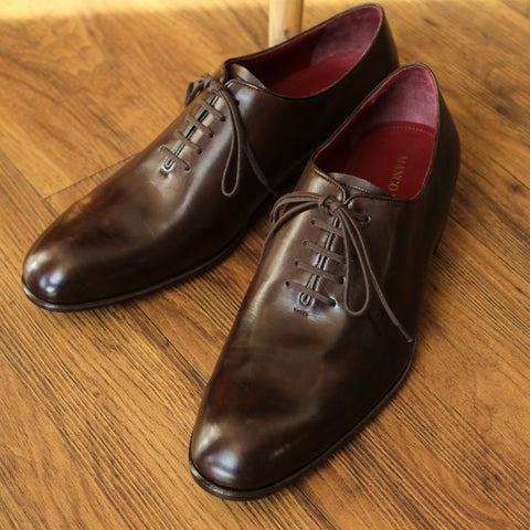 Masterpiece Wholecut Oxford - Brown