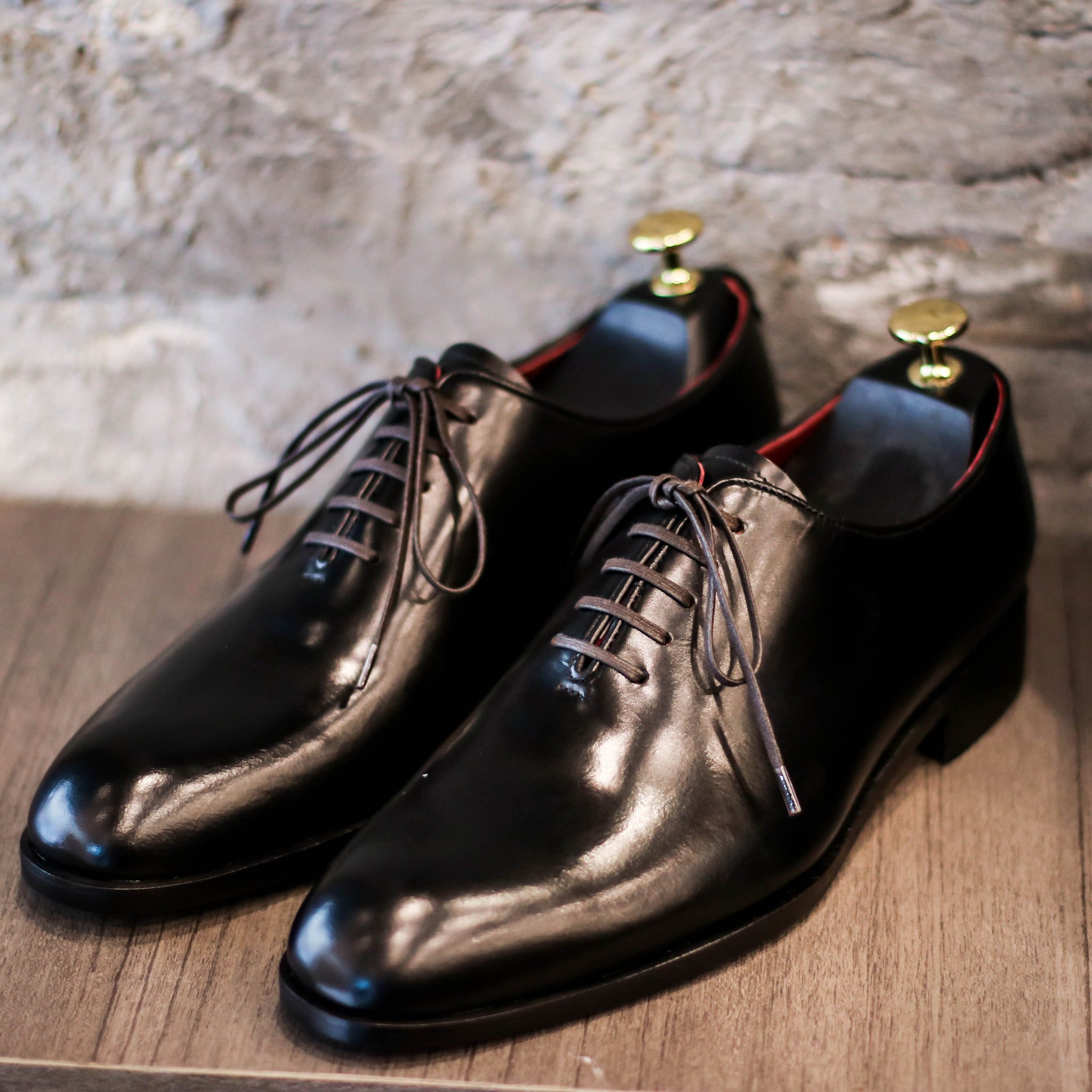 Masterpiece Wholecut Oxford - Black (JPN)