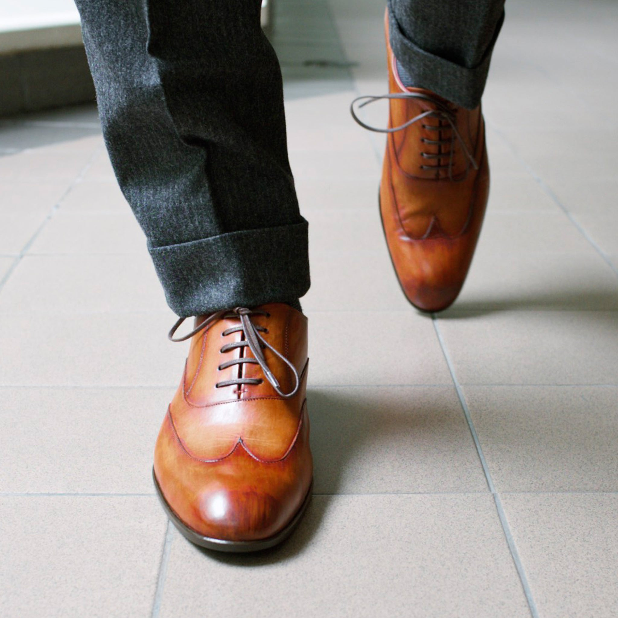 Masterpiece Wingtip - Oak