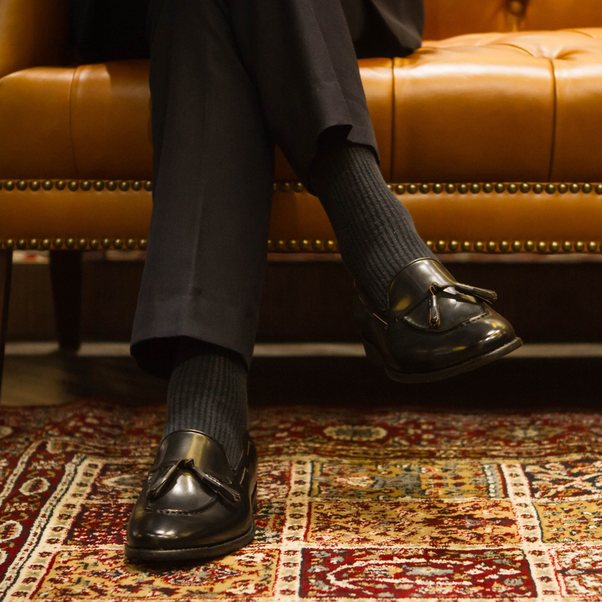 Tassel Loafer (JPN) - Black