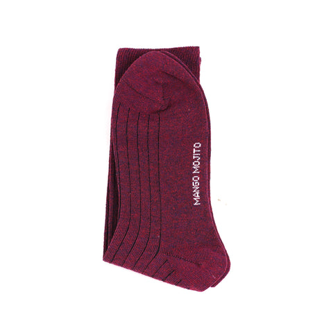 Recycle Socks - Burgundy