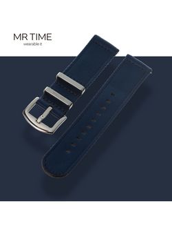 MR TIME Woven - Blue