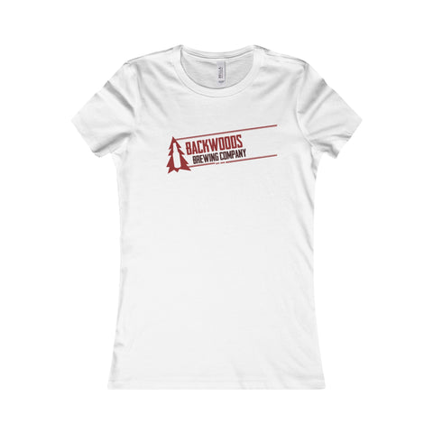 Backwoods Brewing Company Womens Favorite T-Shirt