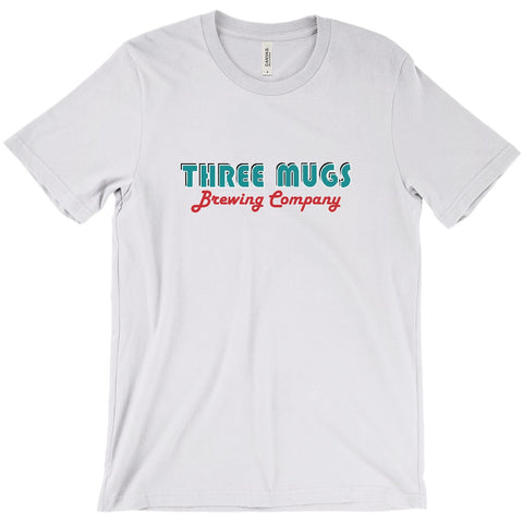 Three Mugs Brewing Company Logo2 Unisex T-Shirt - Hoppy Shops