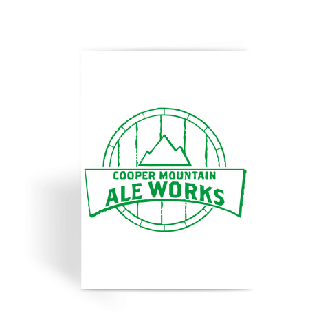 Cooper Mountain Ale Works Greeting Card