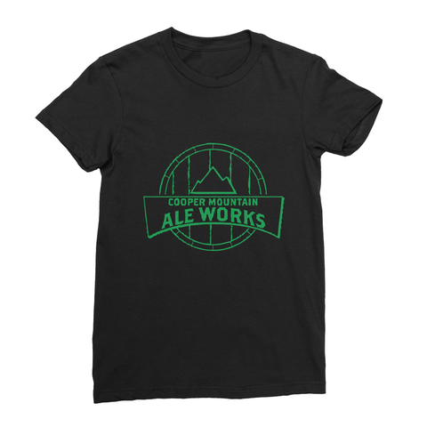 Cooper Mountain Ale Works Women's Fine Jersey T-Shirt - Hoppy Shops
