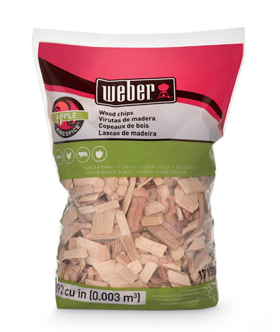 WOOD CHIPS APPLE 900G WEBER