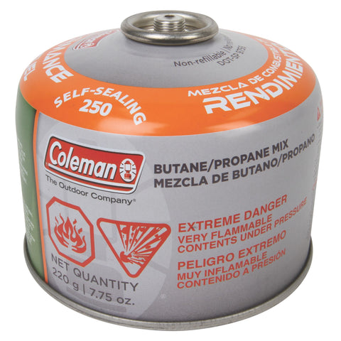 CARTRIDGE BUTANE 220G COLEMAN