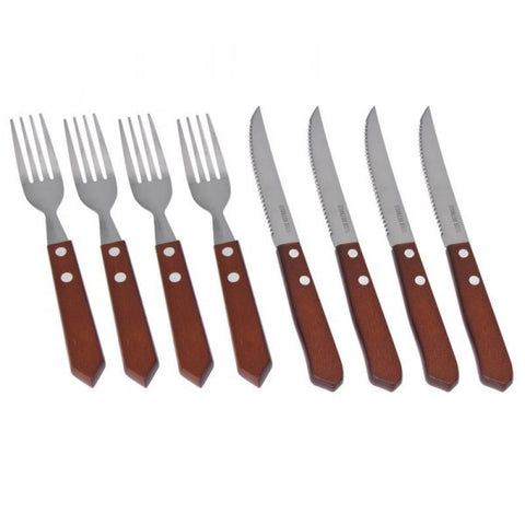 SET KNIFE AND FORK 8PC 712100