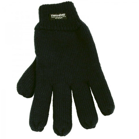 GLOVE ATLANTIC BLACK