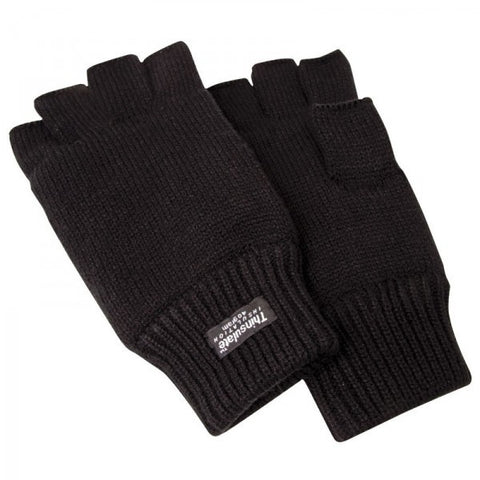 GLOVE FINGERLESS ATLANTIC BLK
