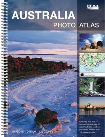 BOOK AUSTRALIA PHOTO ATLAS