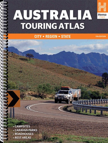 BOOK AUSTRALIA TOURING ATLAS