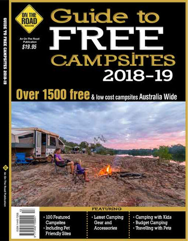 BOOK GUIDE TO FREE CAMPSITES