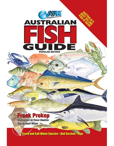 BOOK AUSTRALIAN FISH GUIDE B00