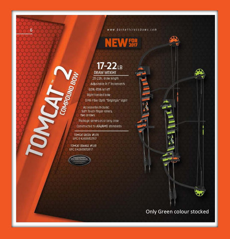 ARCHERY TOMCAT COMPOUND GRN