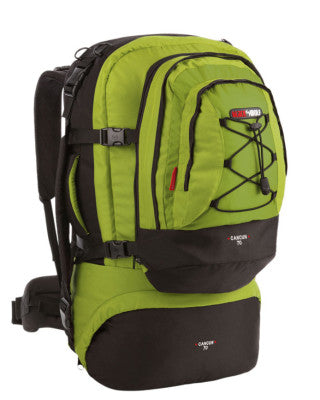 PACK CANCUN 70L CACTUS/LIME