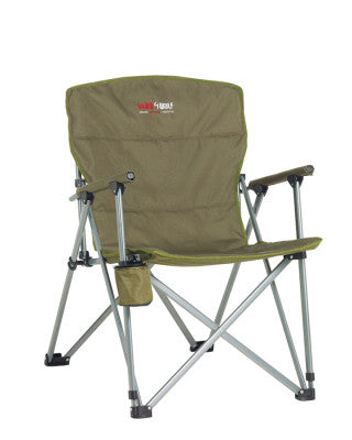 CHAIR CAPTAINS KHAKI/GREEN