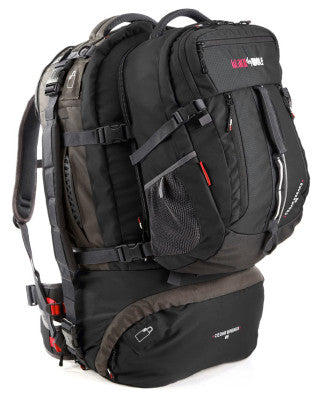 PACK CEDAR BREAKS 90L BLK/TIT