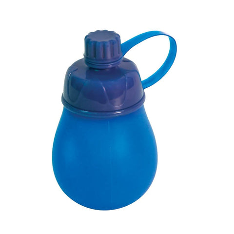 BOTTLE CONDIMENT 190ML BLUE