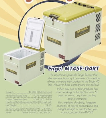 RETRO 40L FRIDGE PACK MT45FRT