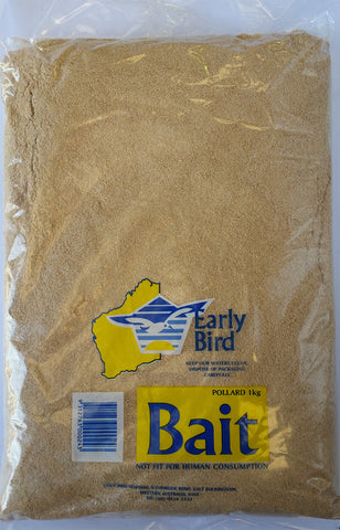BAIT POLLARD 1KG EARLY BIRD