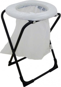 TOILET CHAIR FOLDING WITH BAG