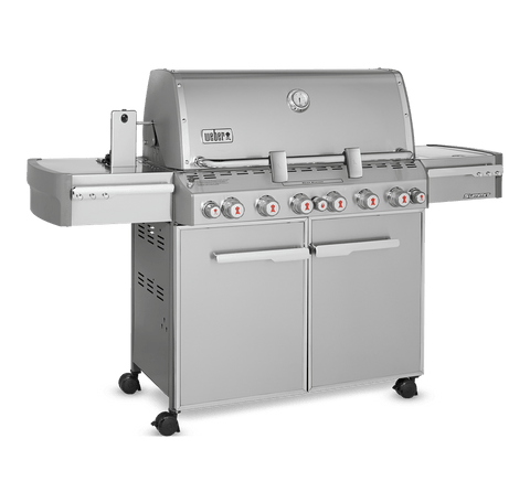 BBQ SUMMIT S670 LP S/STEEL