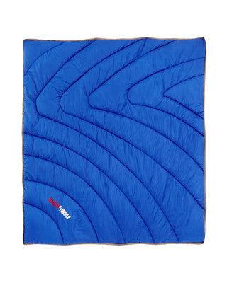 OUTDOOR THROW BLUE