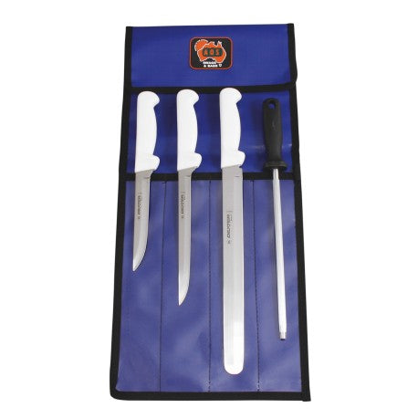 SET KNIFE DEXTER BASICS FISH