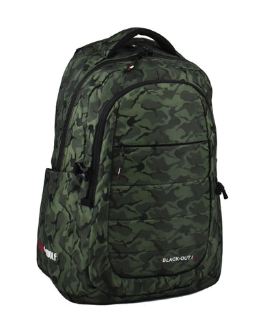 DAYPACK BLACKOUT I GREEN CAMO
