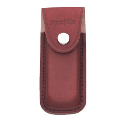 SHEATH LEATHER MED 10CM BROWN