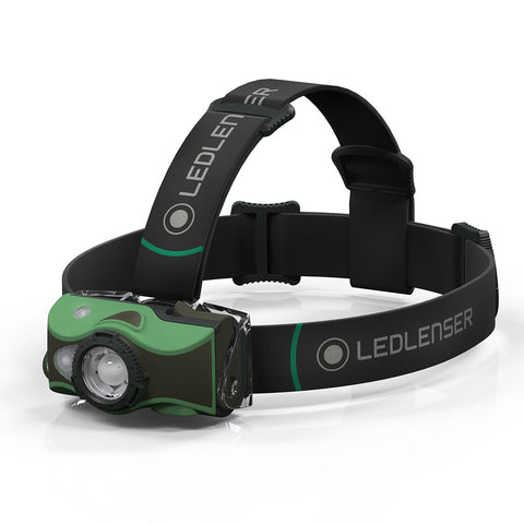 HEADLAMP LEDLENSER MH8 GREEN