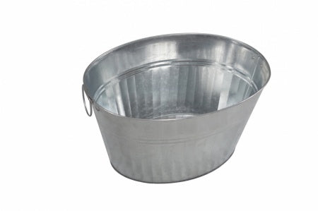 TUB PARTY  OVAL GALVANISED 33