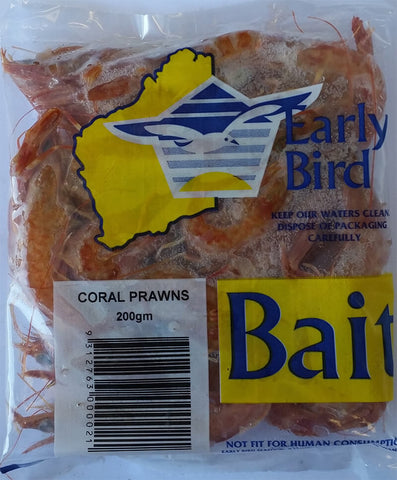 BAIT CORAL PRAWNS 200GM EARLY