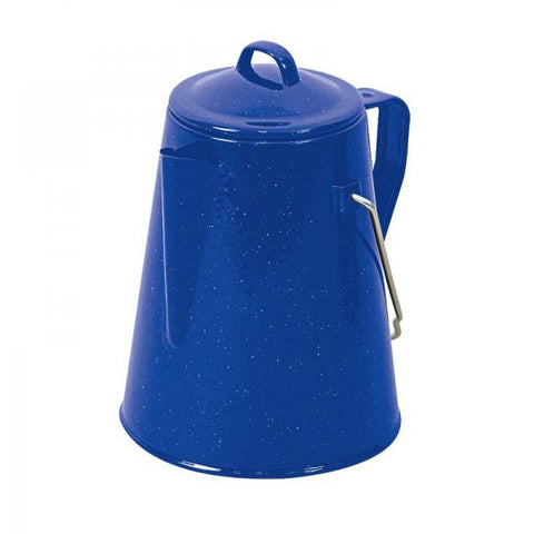 POT COFFEE ENAMEL 2L BLUE